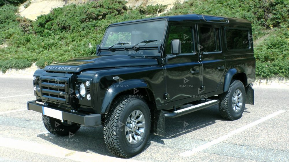 Диагностика ошибок сканером Land Rover Defender в Казани